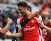 Newcastle 1-2 Arsenal: Giroud double