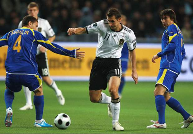 Kazakhstan 0-3 Germany: Visitors' Victory Marred By Klose Injury