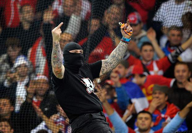 Report: Police arrest 72 fans after Estonia - Serbia Euro 2012 qualifier