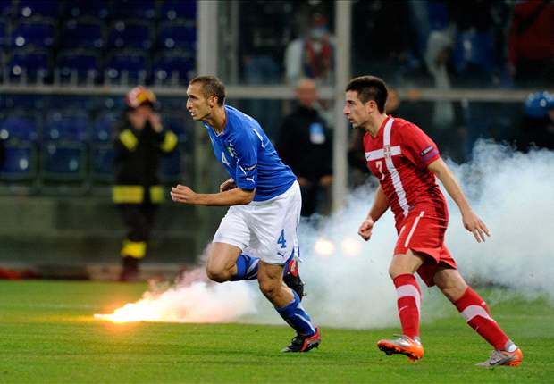 UEFA Opens Disciplinary Investigation Into Incidents At Italy-Serbia
