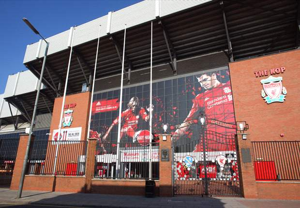Liverpool in Anfield naming rights talks