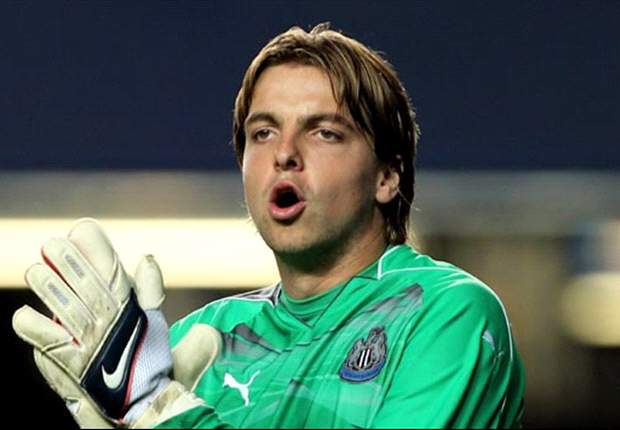 Newcastle United goalkeeper Tim Krul targetting a top six finish