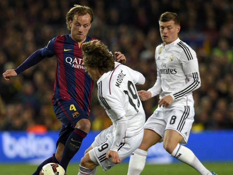 Face à face du Clasico Barça-Real – Luka Modric contre Ivan Rakitic