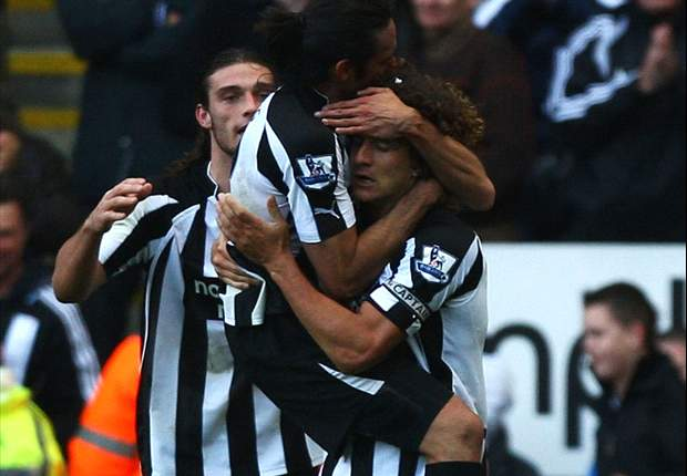Newcastle United 2-2 Wigan Athletic: Returning Charles N'Zogbia double cancelled out by Shola Ameobi and Fabricio Coloccini headers