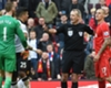 Clowning about: Skrtel reacts to charge
