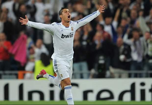 Real Madrid 6-1 Racing Santander: Cristiano Ronaldo nets four to fire Jose Mourinho's men top