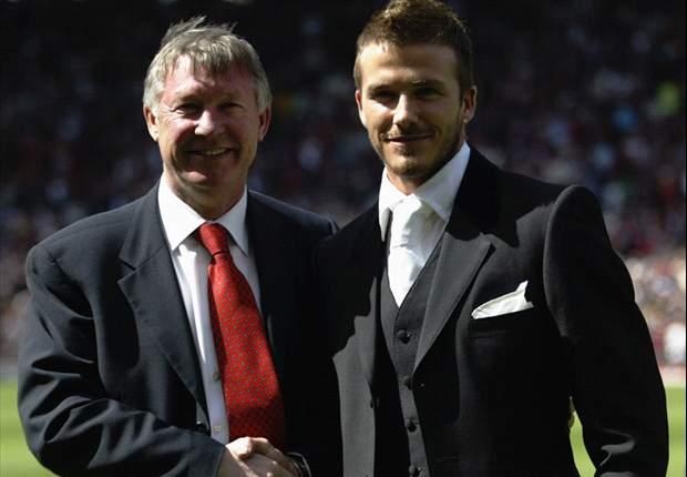 David Beckham: Sir Alex Ferguson Terlahir Sebagai Seorang Pemenang