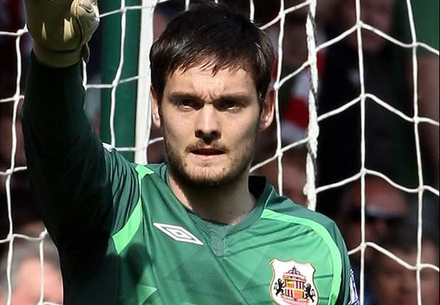 Sunderland goalkeeper Craig Gordon set to miss up to six months after undergoing knee surgery