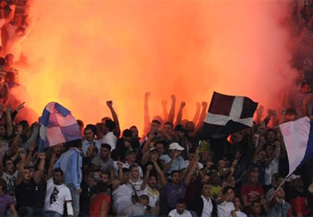 Auch Fans des SSC Neapel erwiesen ihrem Verein einen Bärendienst