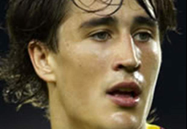 Barcelona Coach Pep Guardiola Confirms Striker Bojan Krkic Has Signed Contract Extension Until 2015
