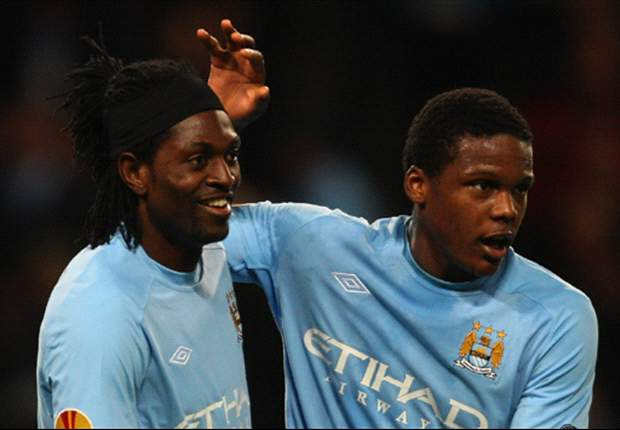 Manchester City striker Emmanuel Adebayor rules out loan move to West Ham United - report