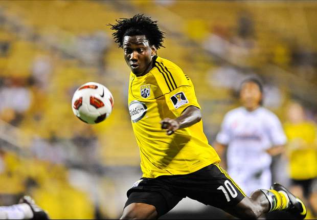 Columbus Crew 2-1 Real Salt Lake: Big deflection and late wonder save by Hesmer seal first win since April