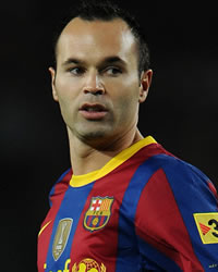 Iniesta, Spain International