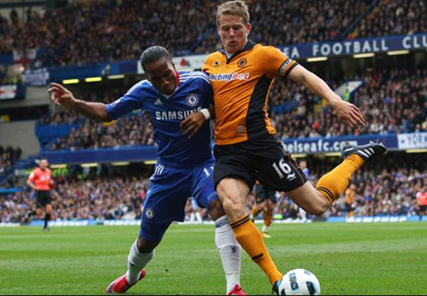 Chelsea 2-0 Wolves: Malouda and Kalou on target as Ancelotti's charges move five points clear in title race