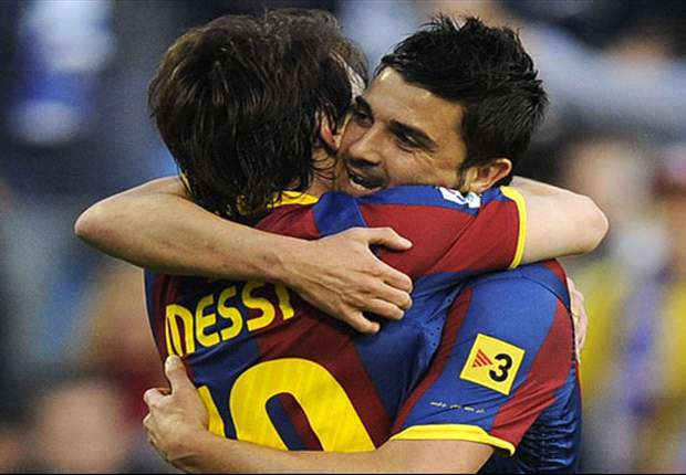 Barcelona 5-0 Sevilla: Magical Lionel Messi & Ruthless David Villa Crush Ten Man Andalucians