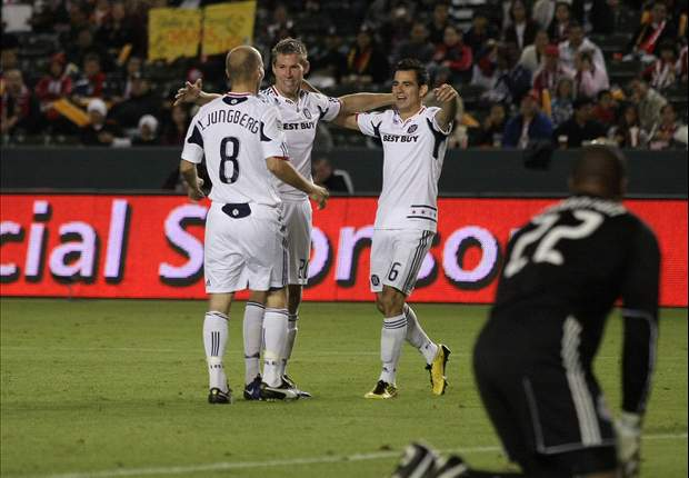 Chivas USA 1-4 Chicago Fire: Brian McBride Scores In Farewell Game