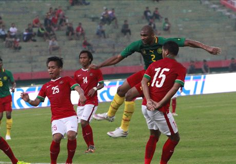 FT: Indonesia 0-1 Kamerun