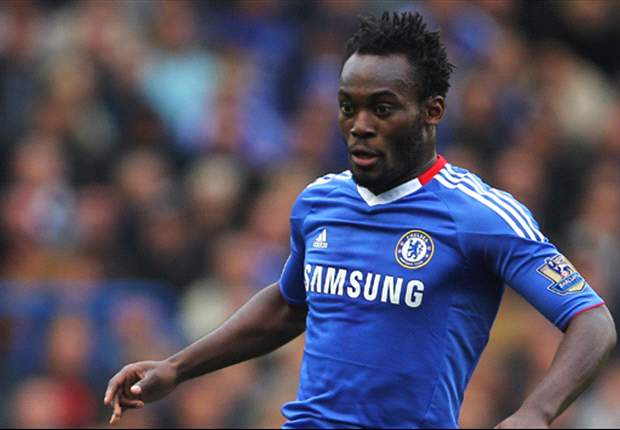 Essien announced the death of his dad moments after landing in Ghana