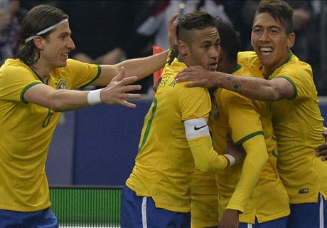 Brazil Comes Back Against France
