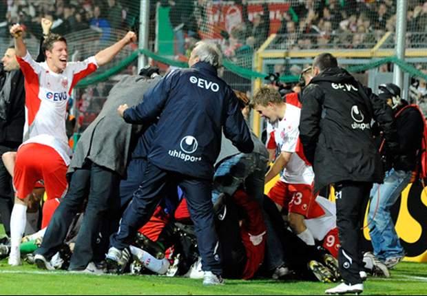 3. Liga: Hessen-Derby zwischen Kickers Offenbach und Darmstadt 98 nach Randale zehn Minuten unterbrochen