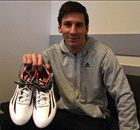 Messi gives fan special pair of boots