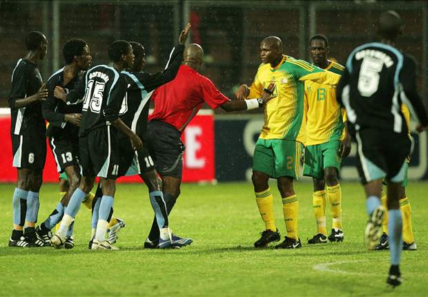 Botswana's Gabonamong to miss South Africa qualifier