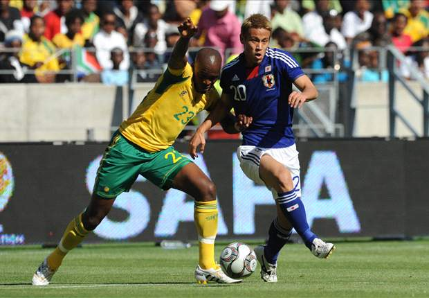 Morgan Gould in action for Bafana