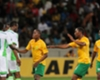 Nigeria and South Africa in AFCON qualifier action