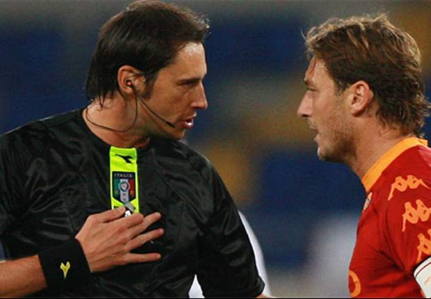 Roma's Francesco Totti Maintains Innocence Following Lecce Sending-Off