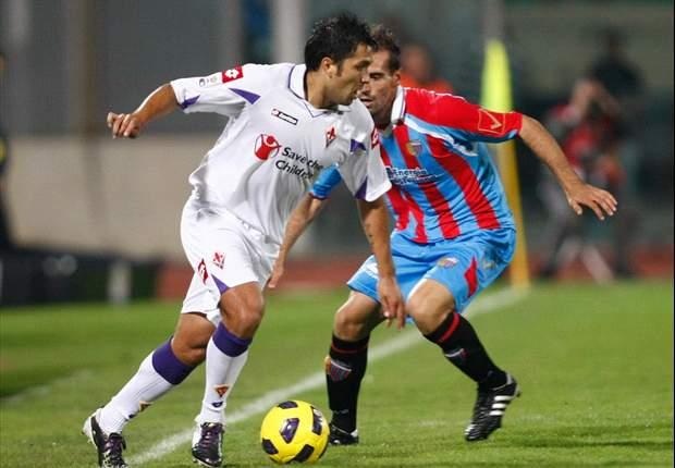Catania 0-0 Fiorentina: Rossazzurri And Viola Fight Out No Score Draw