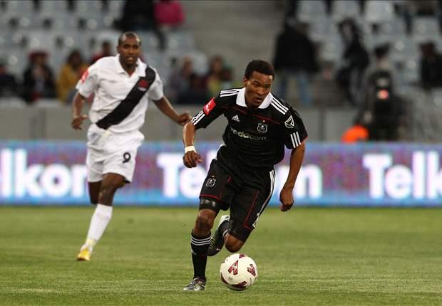 Orlando Pirates midfielder Tlou Segolela