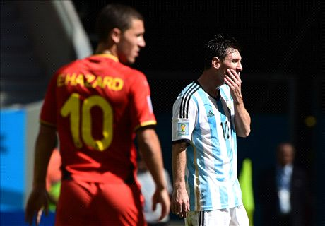 Hazard: I'll never match Messi and Ronaldo