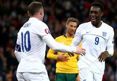 LIVE: England 3-0 Lithuania
