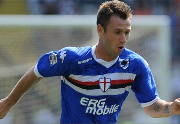 Parma President Tommaso Ghirardi Excludes Move For Sampdoria's Antonio Cassano