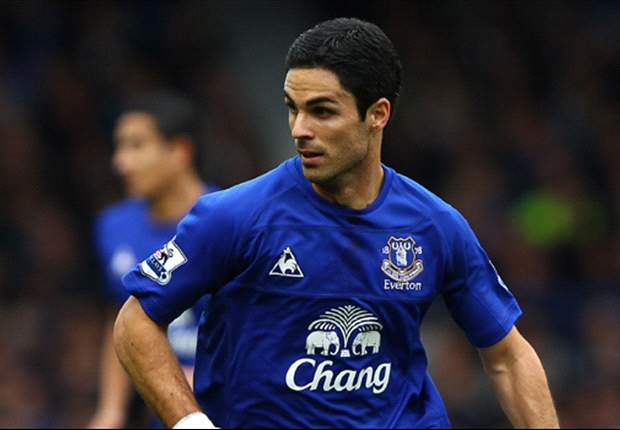 Everton midfielder Mikel Arteta glad to be back after seven week injury lay-off