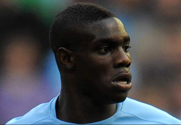 Manchester City's Micah Richards stretchered off in England Under-21 game against Denmark