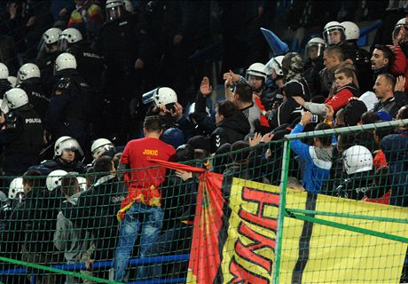 'Montenegro fans are barbarians'
