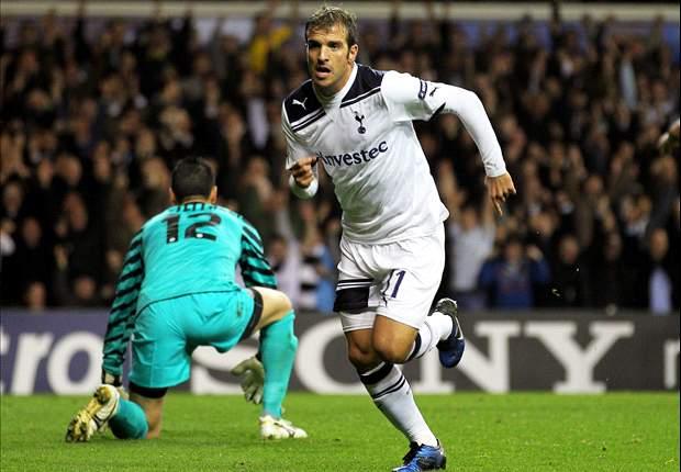 Tottenham 3-1 Inter: Gareth Bale Stars Again As Van der Vaart, Crouch And Pavlyuchenko Seal Historic Victory
