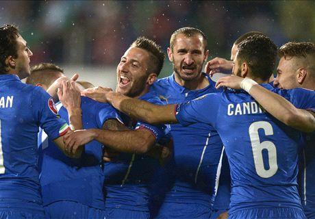 Italië ontsnapt aan nederlaag