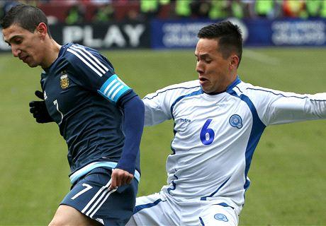 Argentina make hard work of El Salvador