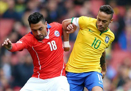 LIVE: Brazil 0-0 Chile