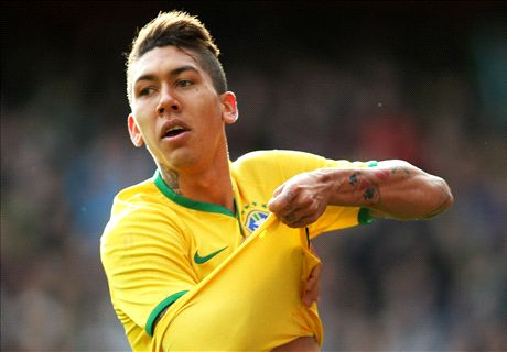 Firmino seals Brazil's eighth straight win