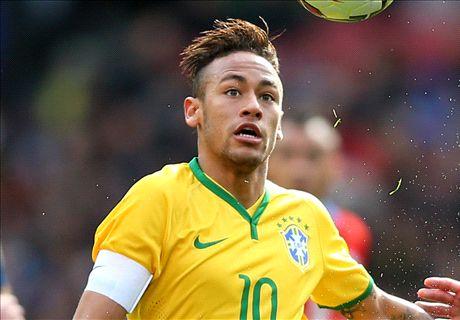 Neymar ne veut pas jouer en Premier League
