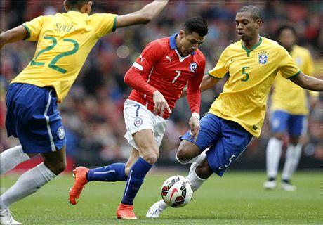 Alexis dazzles despite Chile defeat
