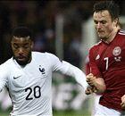 LIVE: France 2-0 Denmark