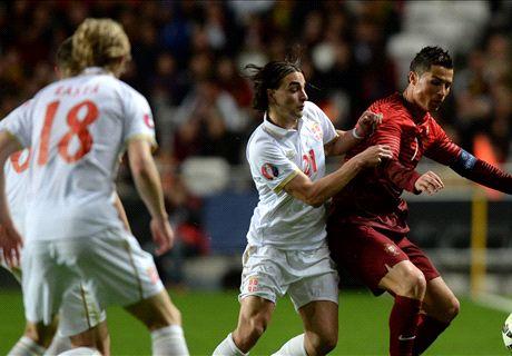 LIVE: Portugal 2-1 Serbia