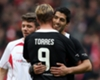 Torres in emotional tribute to Liverpool fans after Anfield return