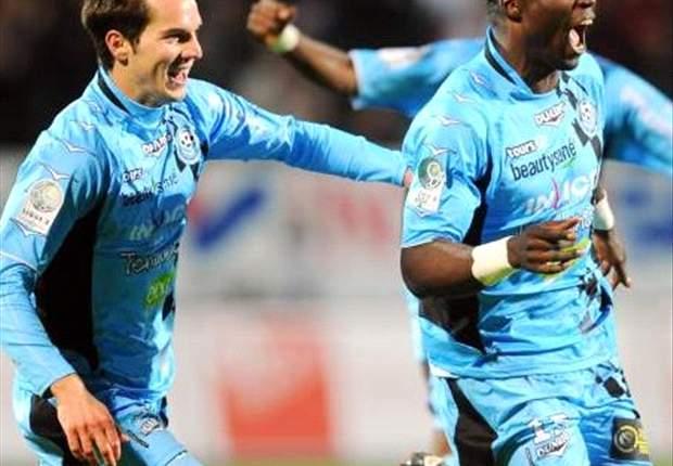 Ligue 2 - Les résultats de la 13e journée