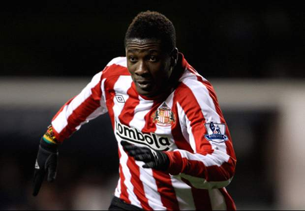 Sunderland's Asamoah Gyan Could Return From Injury Against Chelsea