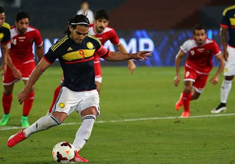 Falcao strikes again for Colombia